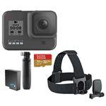GoPro HERO8 Black Bundle inkl. Shorty Stativ, Speicherkarte, Kopfbügel und 2. Akku für 377€ (statt 429€)
