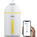 Meross Aroma-Diffuser und Luftbefeuchter mit Nachtlicht kompatibel mit Alexa, Google und IFTTT für 12,87€ (statt 23€)