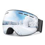 OMORC Skibrille mit UV-Schutz für 10,99€ – Prime
