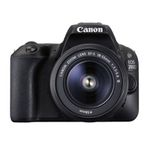 Canon EOS 200D – 24MP DSLR Kamera mit Objektiv, WLAN + Touchscreen für 444€ (statt 600€)