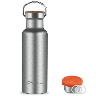 CooSpo Edelstahl Thermos Trinkflasche in 500ml und doppelwandig für 12,49€ (statt 25€)