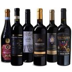 """Wein Probierpaket """"Italia"""" mit sechs verschiedenen Rotweinen für 49,99€ (statt 66€)"""