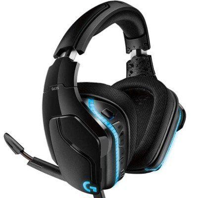 Logitech G635   7.1 Surround Sound Lightsync Gaming Headset (mit Kabel) für 59,28€ (statt 78€)