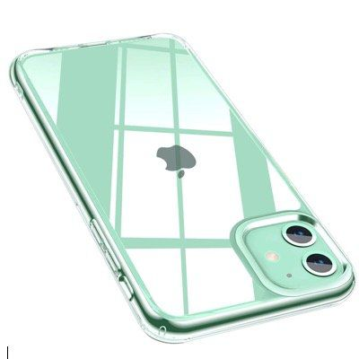 Promixc Handyhülle fürs Apple iPhone 11 mit Rückseite aus gehärtetem Glas für 1,80€   Prime