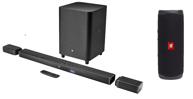 JBL Bar 5.1 Soundbar + JBL Flip 5 BT Lautsprecher ab 599€ (statt 698€)