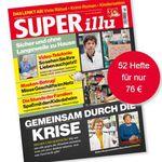 52 Ausgaben Superillu für 76€ (statt 104€) + Prämie: 30€ Scheck