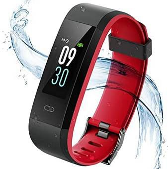 Vigorun Fitnesstracker mit Herzfrequenzmonitor & mehr für 9,99€   Prime