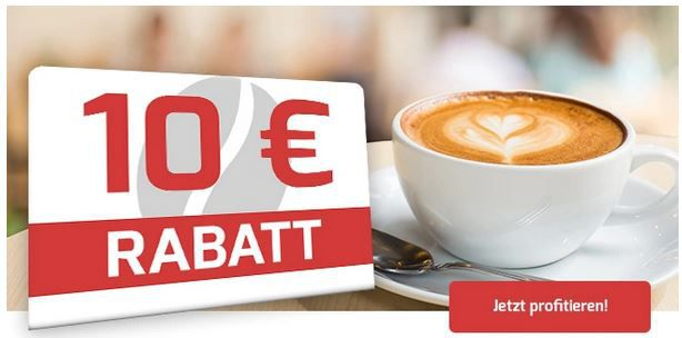 Kaffeevorteil mit 10€ Sofortrabatt auf Grand Maestro Italiano und Celeste dOro Kaffeesorten ab 50€