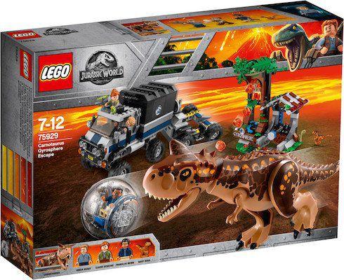 Lego Jurassic World   Carnotaurus   Flucht in der Gyrosphere (75929) für 55,99€ (statt 76€)