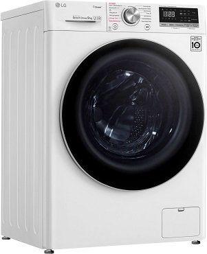 LG F4WV409S1 Serie 4 Waschmaschine mit 9 kg und EEK A+++ für 449€ (statt 476€) + gratis Google Home Mini