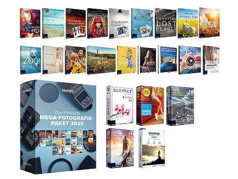 Pearl: Mega Fotografie Paket 2020 von Franzis gratis (statt ca. 1000€) + 4,95€ VSK
