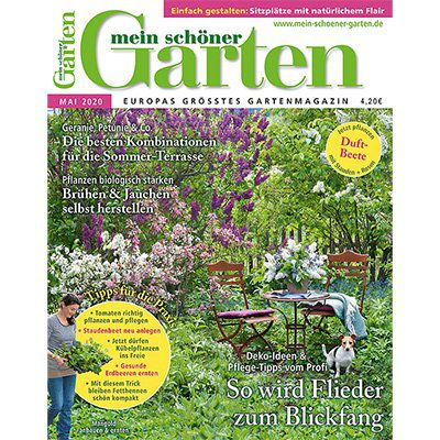 12 Ausgaben Mein schöner Garten für 50,40€ + Prämie: 30€ Verrechnungsscheck