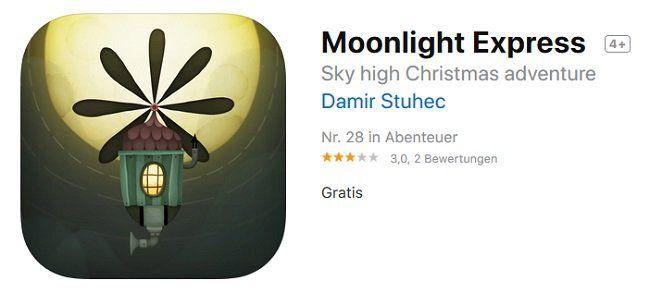 iOS: Moonlight Express gratis (statt 1,09€)