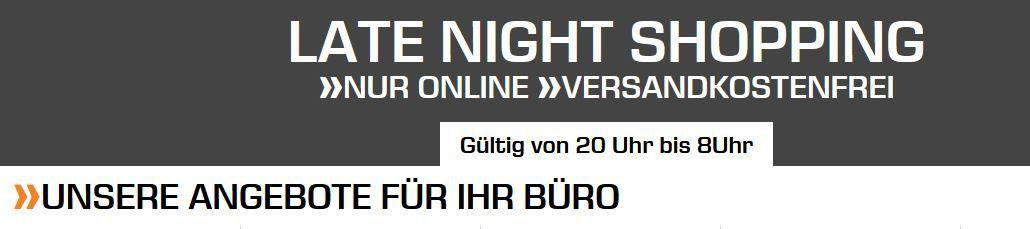 Saturn Late Night Office Shopping. z.B. SAMSONITE Desklite Notebooktasche für 39,99€ (statt 82€)