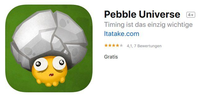iOS/Android: Pebble Universe kostenlos (statt ca. 2€)