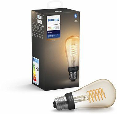 PHILIPS Hue White LED Filament Edison E27 für 19,19€ (statt 24€)