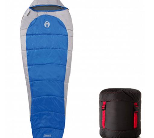 Coleman Silverton 250 Mumienschlafsack (für bis zu  29 °C) für 24,99€ (statt 32€)