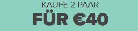 2 Paar Crocs kaufen für 40€ + keine VSK