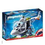 PLAYMOBIL City Action 6874 Polizei-Helikopter mit LED-Suchscheinwerfer für 19,99€ (statt 26€)