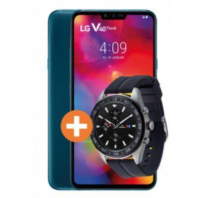 LG V40 ThinQ + LG W7 Watch für 39,95€ + Telekom Flat von Congstar mit 10GB LTE für 25€ mtl.