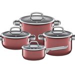 WMF 4-teiliges Kochgeschirr-Set Fusiontec in Rose Quartz für 239,20€ (statt 317€)