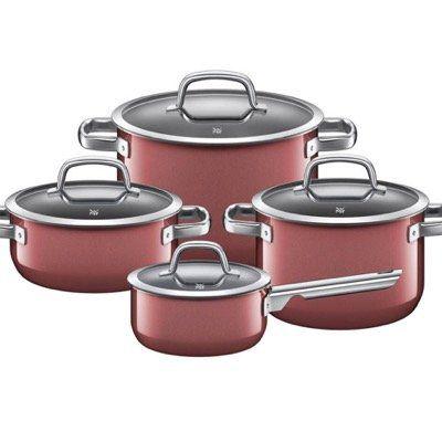 WMF 4 teiliges Kochgeschirr Set Fusiontec in Rose Quartz für 239,20€ (statt 317€)