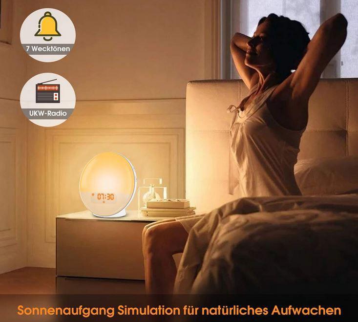 SMITHROAD Wake Up Lichtwecker für 25,89€ (statt 37€)