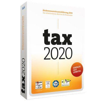 Tax 2020 von Buhl Data für die Einkommensteuererklärung 2019 ab 10,99€ (statt 13€)