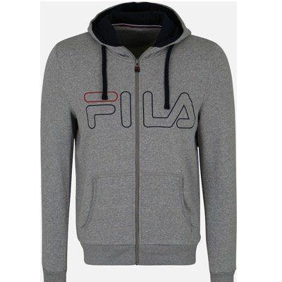 FILA Sportsweatjacke Willi in Grau noch in S bis L für 27,96€ (vorher 70€)