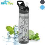 WeluvFit Sport-Trinkflasche 700ml auslaufsicher und BPA-Frei mit Pop-up Düse für 11,39€ (statt 19€)
