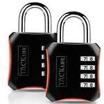 2er Pack: Tacklife HCL3B Zahlenschloss mit 4 Stellen für 4,99€ – Prime