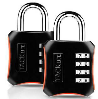2er Pack: Tacklife HCL3B Zahlenschloss mit 4 Stellen für 4,99€ (statt 13€)   Prime