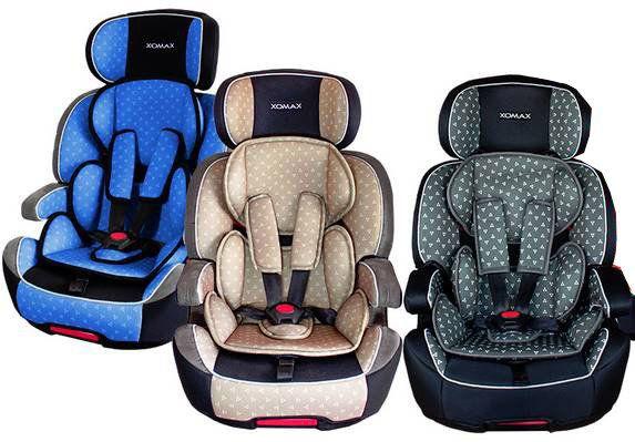 XOMAX XL 518 Kindersitz (9 36kg) mit ISOFIX in 3 Farben für je 69,99€ (statt 85€)