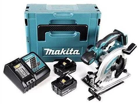 Makita Akku Handkreissäge DSS610RTJ + 2x 5Ah Akkus + Ladegerät + Makpac Gr. 3 ab 284,90€ (statt 385€)