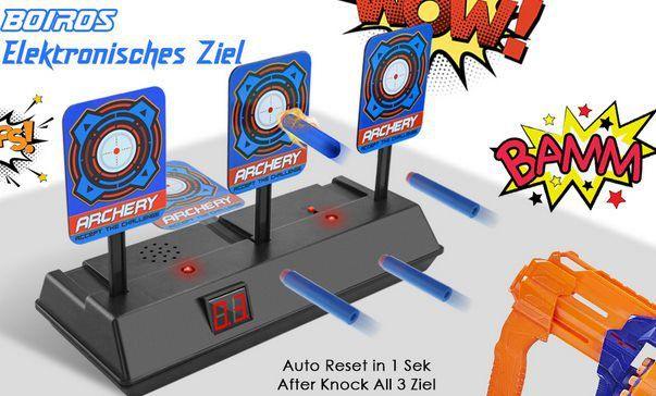 Elektrische Zielscheibe mit 3 Scheiben für 10,49€ (statt 15€)