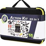 55tlg Set für ActionCams inkl. Koffer für 12,99€ – Prime