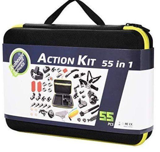 55tlg Set für ActionCams inkl. Koffer für 12,99€   Prime