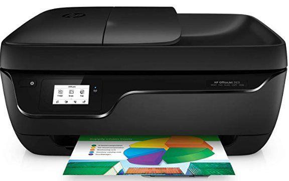 HP OfficeJet 3831 Multifunktionsdrucker mit WLAN für 52,99€ (statt 58€)