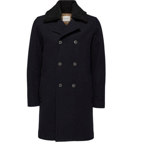 Vorbei! SELECTED HOMME Herren Mantel PEACOAT für 68,04€ (statt 226€)
