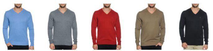 Calvin Klein Golf Basic Pullover in 6 Farben mit V Ausschnitt für 34,90€ (statt 46€)
