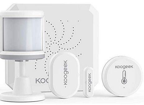 4tlg Koogeek Sicherheitsset aus Türsensor, Bewegungsmelder & mehr für 49,90€ (statt 80€)