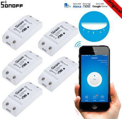5er Pack: SONOFF BASIC WiFi Wireless Smart Switch für 27,89€   aus DE