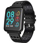 Coulax Smartwatch mit Farbdisplay für 16€ (statt 40€)