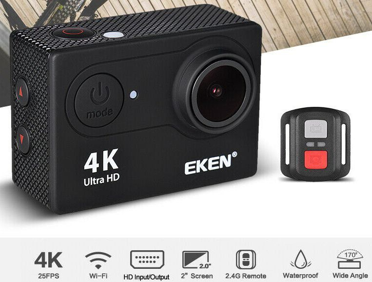 EKEN H9R 4K ActionCam mit 12MP & 170° Weitwinkel für 40,39€   aus DE
