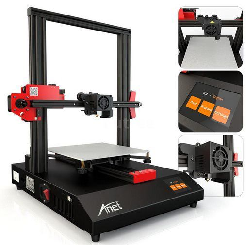 Anet ET4   3D Drucker (220x220x250mm) mit 2,8 Zoll Touchscreen für 148,47€   aus DE