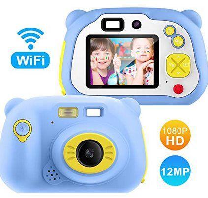 9MP Kinderkamera mit 2 Zoll Farbdisplay & 16GB Speicherkarte für 27,59€ (statt 46€)