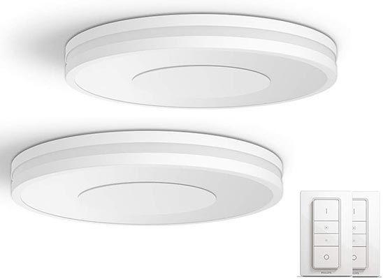 2er Pack Philips Hue Being White Ambiance Deckenleuchte mit Bluetooth für 214,90€ (statt 260€)