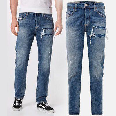 Diesel Jeans Buster in Blue Denim für 62,93€ (statt 116€)