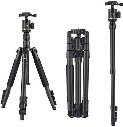 40% Rabatt auf Zecti Kamerastative mit 140 oder 170cm ab 23,99€ (statt 40€)