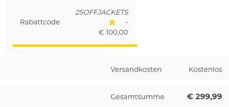 25% Rabatt auf Wellensteyn Jacken in Restgrößen bei Tara M   z.B. Wellensteyn Synergy für 194,99€ (statt 260€)